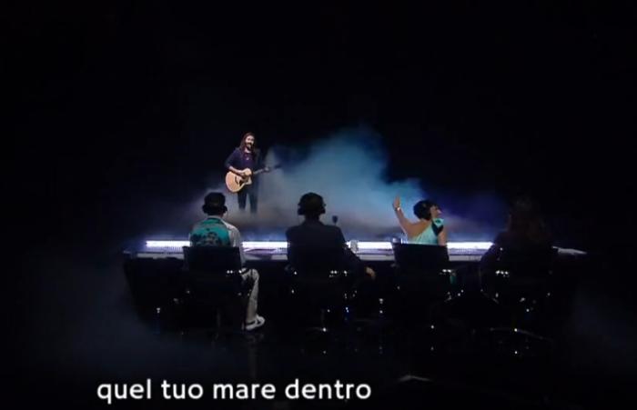 X Factor 19 semifinale Andrea Biagioni