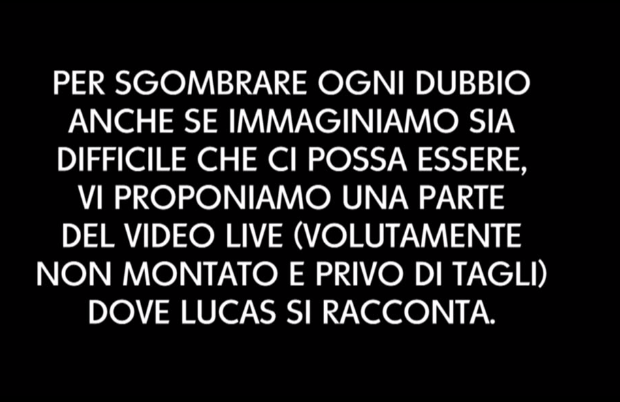 Lucas Peracchi redazione causa