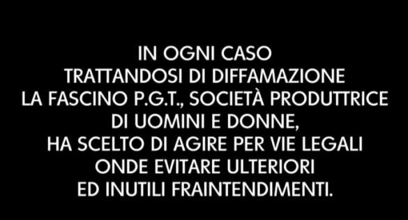 Fascino denuncia Lucas Peracchi