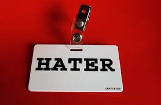 haters su internet hater