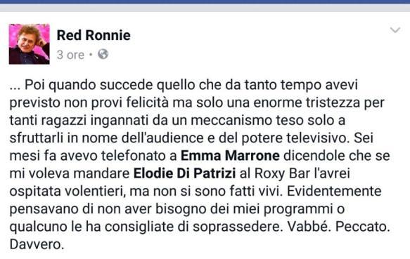 Red Ronnie Emma Marrone