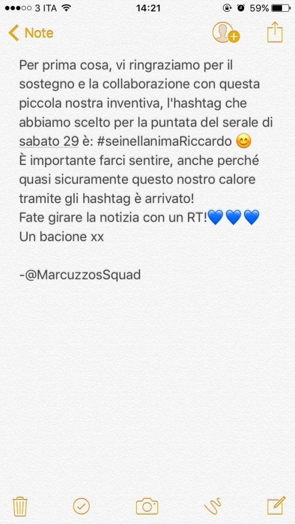 Riccardo Marcuzzo Squad
