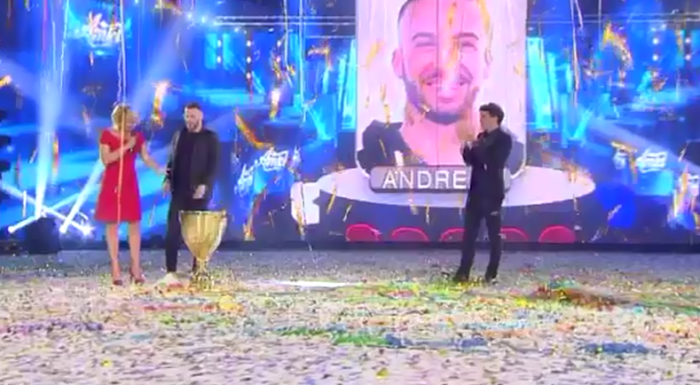 Amici 16 finale vince Andreas Müller
