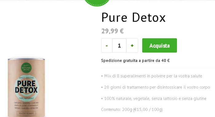 natural mojo pure detox youtube